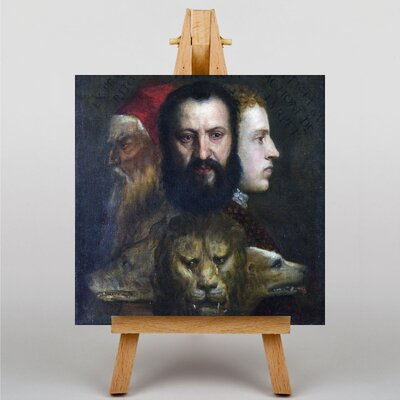 Big Box Art The Allegory of Age Governed by Prudence by Titian Art Print on Canvas