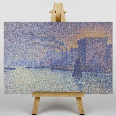 Big Box Art The Docks by Georges Lemmen Art Print on Canvas