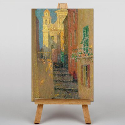Big Box Art Street Steps by Henri Le Sidaner Art Print on Canvas
