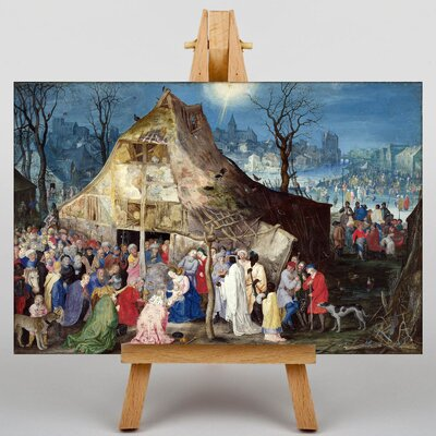 Big Box Art The Elder The Adoration of The Kings by Pieter Bruegel Art Print on Canvas