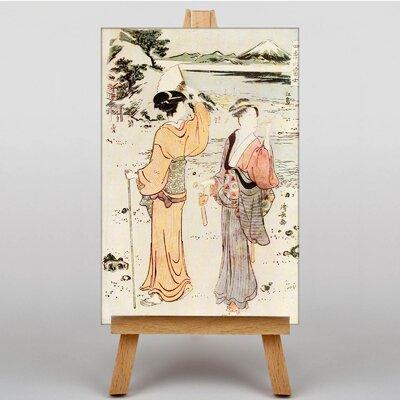 Big Box Art Japanese Oriental No.1 by Torii Kiyonaga Art Print on Canvas