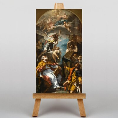 Big Box Art A Glory of the Virgin by Sebastiano Ricci Art Print on Canvas