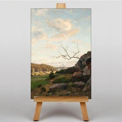 Big Box Art Landscape by Victor Westerholm Art Print on Canvas
