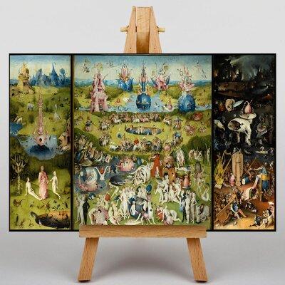 Big Box Art The Elder The Garden of Earthly Delights by Pieter Bruegel Art Print on Canvas