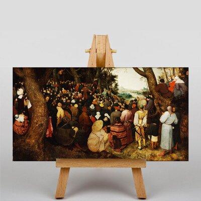 Big Box Art The Elder The Sermon of Saint John The Baptist by Pieter Bruegel Art Print on Canvas