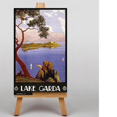 Big Box Art Lake Garda Vintage Advertisement on Canvas