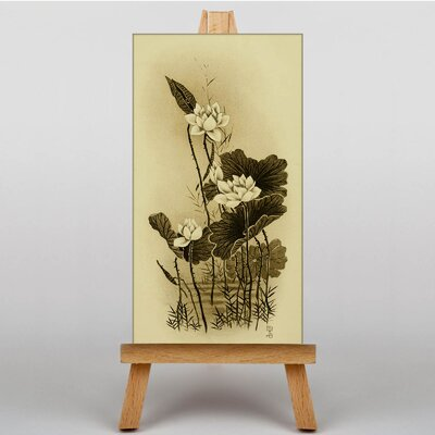 Big Box Art The Lotus Japanese Oriental Graphic Art on Canvas