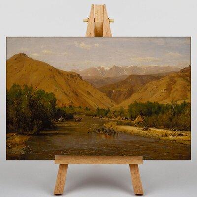 Big Box Art Indian Encamptment by Thomas Worthington Whittredge Art Print on Canvas