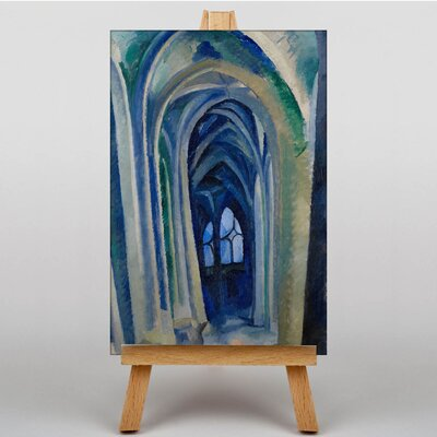 Big Box Art Saint Severin by Robert Delaunay Art Print on Canvas