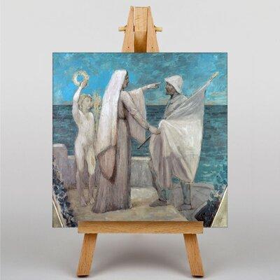Big Box Art Pierre Puvis de Chanes Study for Patriotism by Pierre Puvis de Chavannes Art Print on Canvas