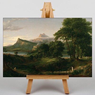 Big Box Art Arcadian by Thomas Cole Art Print on Canvas