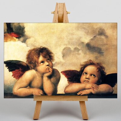 Big Box Art Two Cupids by Raphael Art Print on Canvas