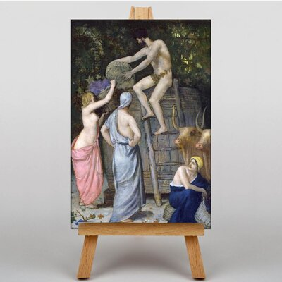 Big Box Art Chanes The Wine Press by Pierre Puvis de Chavannes Art Print on Canvas