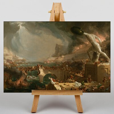 Big Box Art Course of Empire No.2 by Thomas Cole Art Print on Canvas