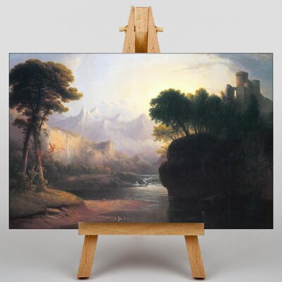 Big Box Art Fanciful Landscape by Thomas Doughty Art Print on Canvas