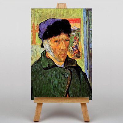 Big Box Art Self Portrait by Vincent Van Gogh Art Print on Canvas