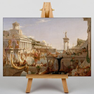 Big Box Art Course of Empire by Thomas Cole Art Print on Canvas