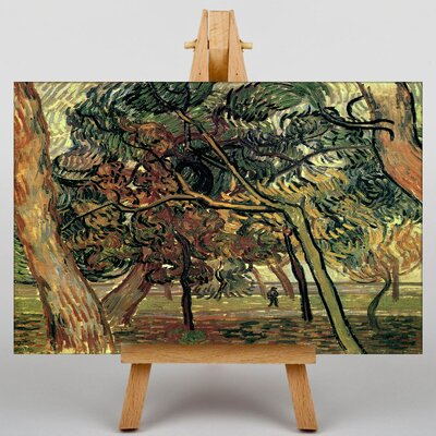 Big Box Art Landscape No.4 by Vincent Van Gogh Art Print on Canvas