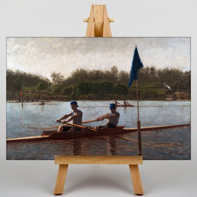 Big Box Art The Biglin Brothers Turning the Stake by Thomas Eakins Art Print on Canvas