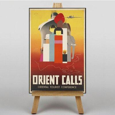 Big Box Art Orient Calls Vintage Advertisement on Canvas