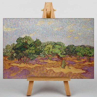 Big Box Art Landscape No.6 by Vincent Van Gogh Art Print on Canvas