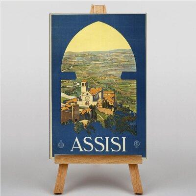 Big Box Art Assisi Vintage Advertisement on Canvas