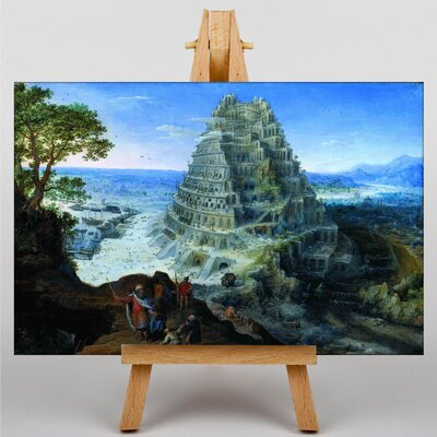 Big Box Art The Elder Babel by Pieter Bruegel Art Print on Canvas