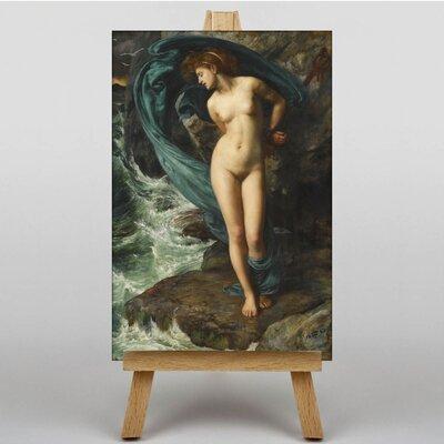 Big Box Art Sacrifice to the Sea by Sir Edward John Poynter Art Print on Canvas