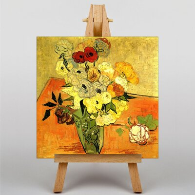 Big Box Art Poppy Flowers by Vincent Van Gogh Art Print on Canvas