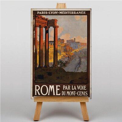 Big Box Art Rome No.2 Vintage Advertisement on Canvas