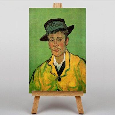 Big Box Art Portrait of Armand Roulin by Vincent Van Gogh Art Print on Canvas