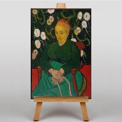 Big Box Art Seated Woman by Vincent Van Gogh Art Print on Canvas