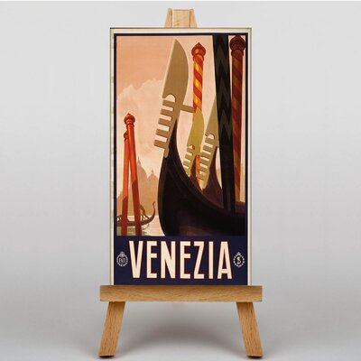 Big Box Art Venice Venezia Vintage Advertisement on Canvas