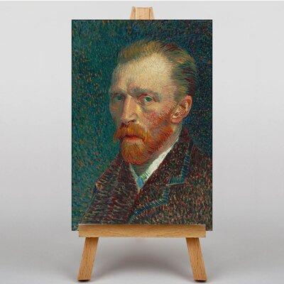 Big Box Art Self Portrait by Vincent Van Gogh Art Print on Canvas