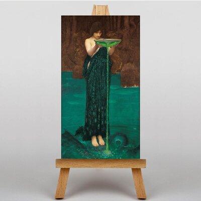 Big Box Art Waterhouse Circe Invidiosa by John William Art Print on Canvas