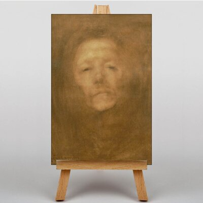 Big Box Art Portrait No.2 by Eugene Carriere Art Print on Canvas