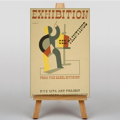 Big Box Art Exhibition No.36 Vintage Advertisement on Canvas