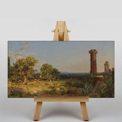 Big Box Art Landscape by Jasper Francis Cropsey Art Print on Canvas