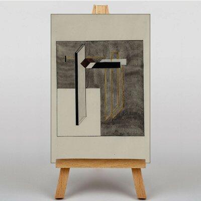 Big Box Art Praun 4b by El Lissitzky Art Print on Canvas