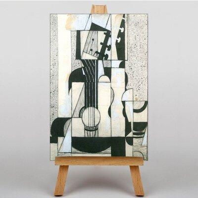Big Box Art Guitar by Juan Gris Art Print on Canvas