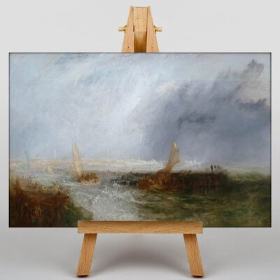 Big Box Art Seascape by Joseph Mallord William Turner Art Print on Canvas