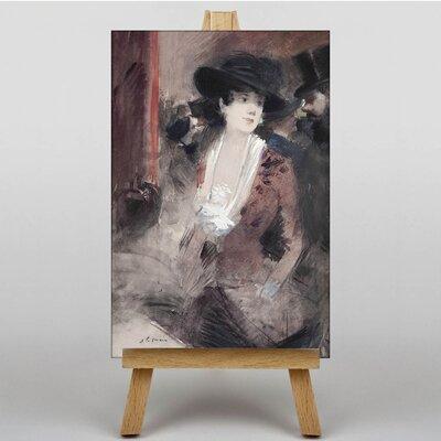 Big Box Art The Admirer by Jean-Louis Forain Art Print on Canvas