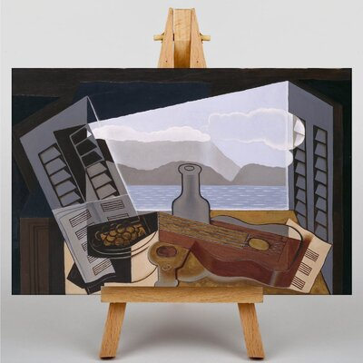 Big Box Art Still Life No.8 by Juan Gris Vintage Advertisement on Canvas