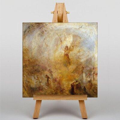 Big Box Art Angel Standing in the Sun by Joseph Mallord William Turner Art Print on Canvas