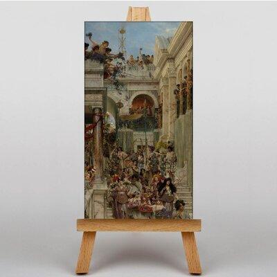 Big Box Art Spring by Lawrence Alma-Tadema Art Print on Canvas