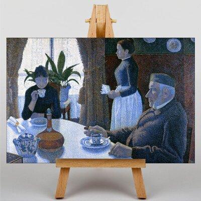 Big Box Art Breakfast by Paul Signac Art Print on Canvas