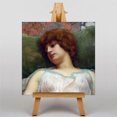 Big Box Art Godward Idle Moments by John William Art Print on Canvas
