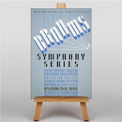 Big Box Art Brahms Vintage Advertisement on Canvas