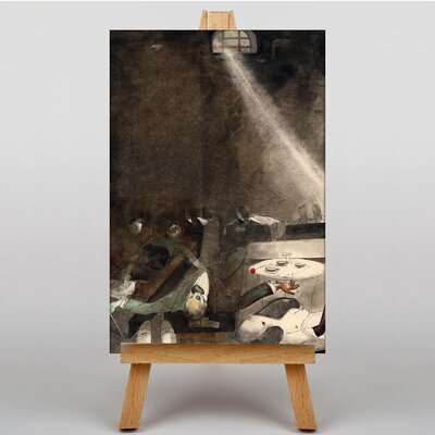 Big Box Art O'Clock Tea in the Morg by Karlis Padegs Art Print on Canvas
