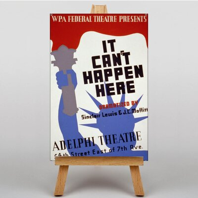 Big Box Art It Can't Happen Here Vintage Advertisement on Canvas